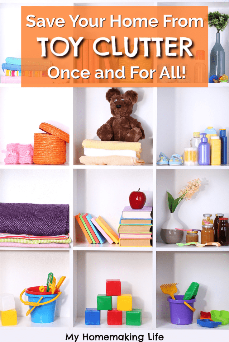 Say goodbye to Toy Clutter and hello to Toy Rotation! Learn everything you need to know to start and maintain a toy rotation. There are so many benefits to this toy organization system you will never go back! #toys #toyrotation #toyorganization #toyclutter