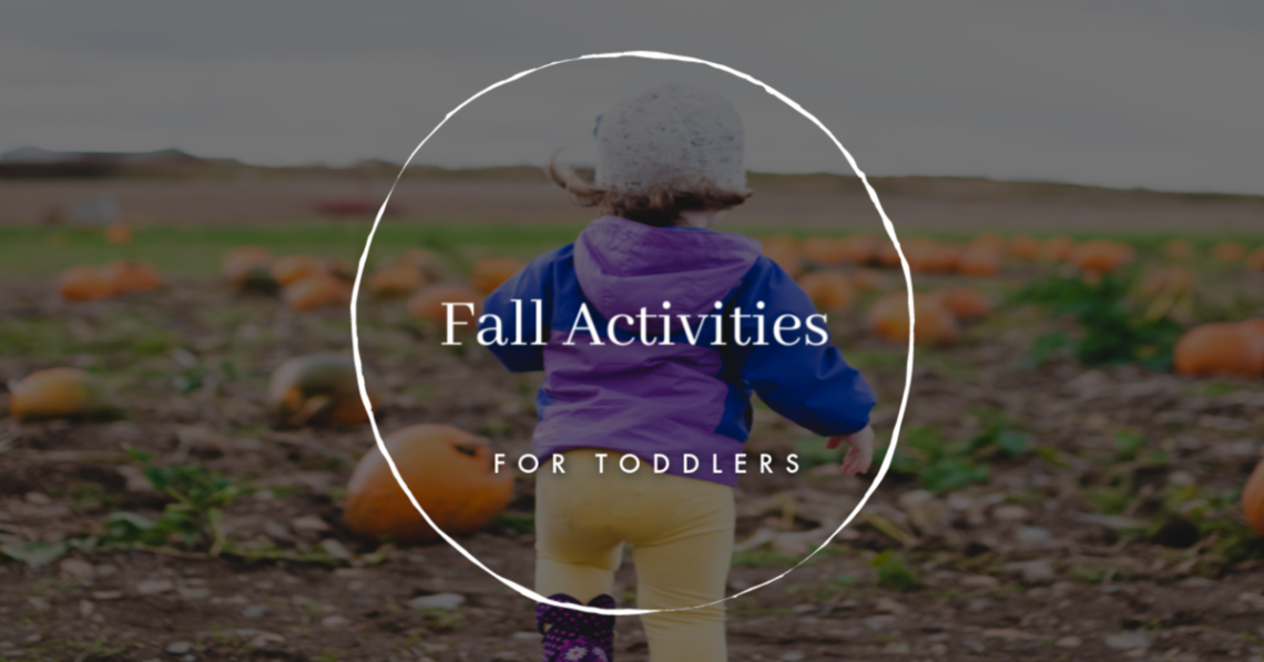 With these fun and simple fall activities for toddlers, you will be set! This list of fall activities covers things to make, places to go, and things to do!